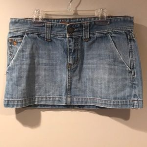 🌷4/$30🌷ABERCROMBIE & FITCH Denim Mini Skirt
